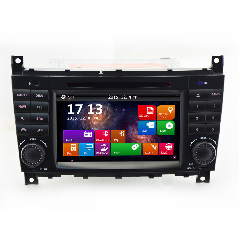 Cheap car stereo dvd player for mercedes benz c class w203 for Mercedes benz stereo