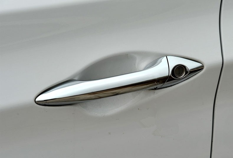 For Hyundai i30 2012-2016 i35 Chrome Door Handle Cover Trim Set 2013 2014 2015  Accessories Stickers Car Styling