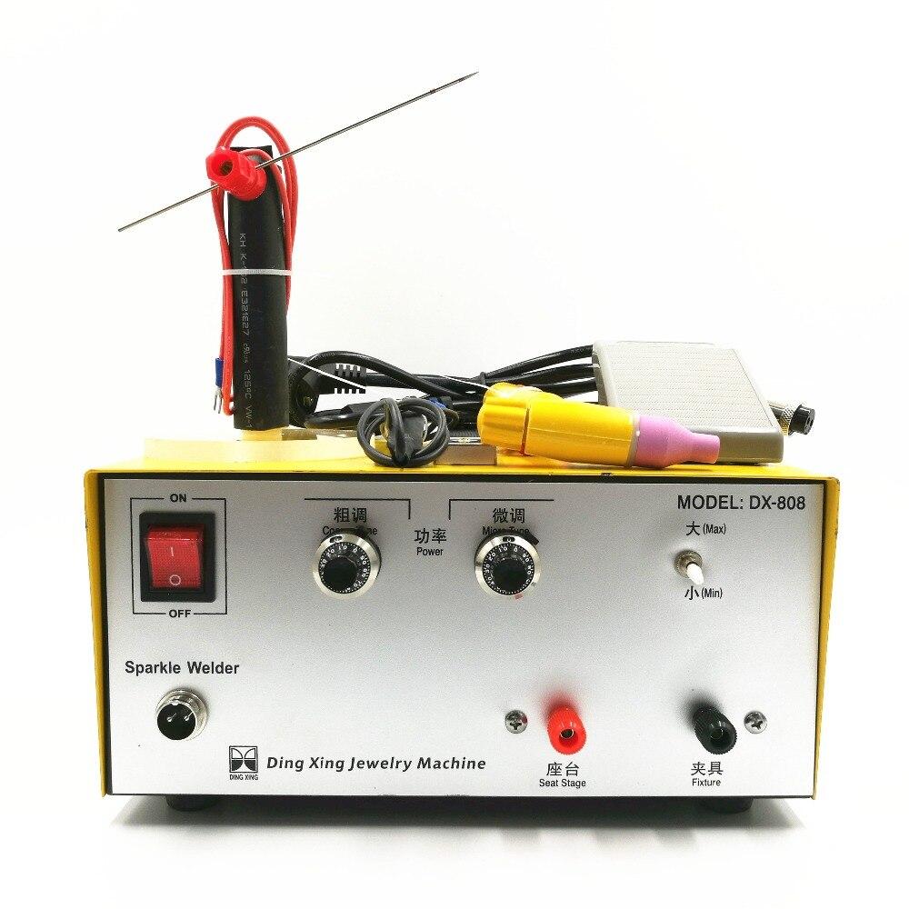 80A импульсная точечная сварка ручной импульсный точечный сварочный аппарат Золотая и серебряная обработка ювелирных изделий