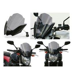 Motocykl rowery uliczne kierownica wycieraczki szyby dla Yamaha FZ1 FZ1N FZ6 S2 FZ 1 6 2001 2004 2008 2009 2012 2014 2015 Szyby przednie i deflektory    -