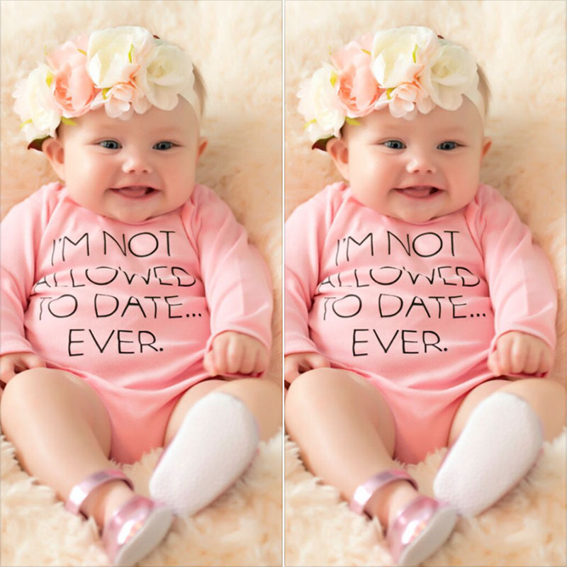 Ins Fashion Cute Pink Infant Baby Girls Princess Rompers Clothes Toddler Bebe Jumpsuit Clothingnewborn Roupas Body Suit Costume