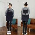 New outono inverno moda de nova boa qulity plaid black dress mulheres bolso com zíper coreano knitting engrosse solto suspender vestidos