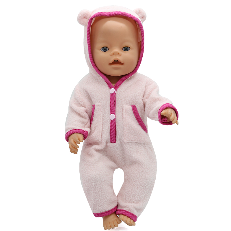 Baby Born Doll Clothes 6 Colors Cute Jumpers Fit 43cm Zapf