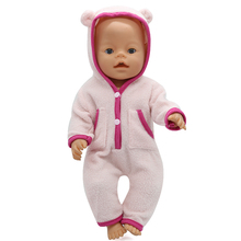 Baby Doll Clothes 6 Colors Cute Jumpers Fit 43cm Zapf Baby Doll Accessories Birthday Gift X