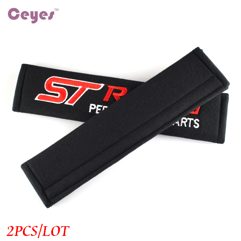 Image 4 - Ceyes Car Styling Protect Shoulders Pads Case For Ford ST Racing Focus 2 3 Auto Cover Stickers Accessories Car Styling 2pcs/lot-in Car Stickers from Automobiles & Motorcycles