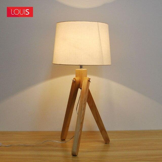 miss a ex madera moda nrdico lmpara de mesa de diseo ikea cubre dormitorio estudio europeo - Diseo Ikea