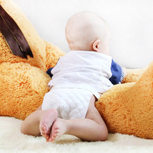 10 Pcs Baby Nappies Reusable Baby Infant Newborn Cloth Diaper Insert 3 Layers Cotton S L Size