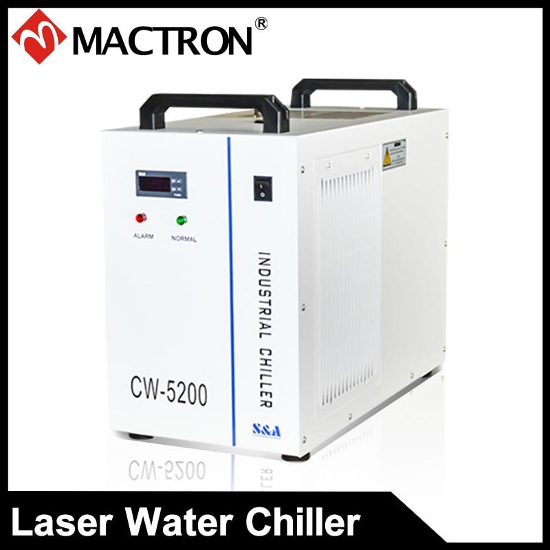 چیلر با لیزر آب با کیفیت بالا برای دستگاه برش لیزری 110V 60HZ CW5200DH