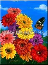 decor for christmas diamant painting accessoires Sunflower Butterfly rhinestone 5d diamond cross stitch Mosaic