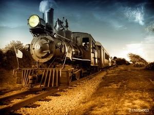 LIFE MAGIC BOX виниловые обои с поездом поезд станция фон поезд фон для фотостудий