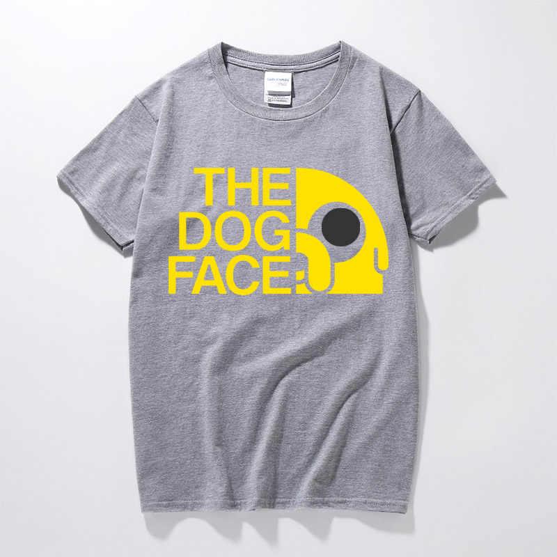 2017 летняя новая футболка с анимацией время приключений футболка Финн и Джейк человек собака лицо Забавный мультфильм 3d принт унисекс футболка мужская