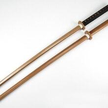 Брэндон мечи Кендо практика дерево Катана лайдо обучение использование меч незаточенный Cospaly деревянный меч