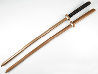 Brandon Swords Kendo Practice Wood Katana Laido Training Usage Sword Unsharpened Cospaly Wood Sword