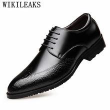 1de6acae357 Chaussures de crocodile de marque de luxe italien chaussures habillées pour  hommes chaussures formelles hommes chaussures hommes.