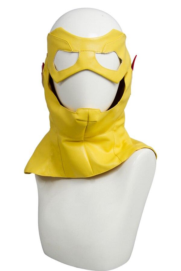 Enfant Flash jeune Justice saison 2 Cosplay Costume tenue uniforme Costume chemise manteau avec masque Halloween carnaval Costumes - 6