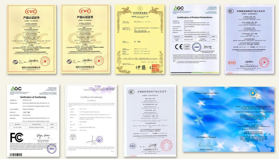 certificate KD
