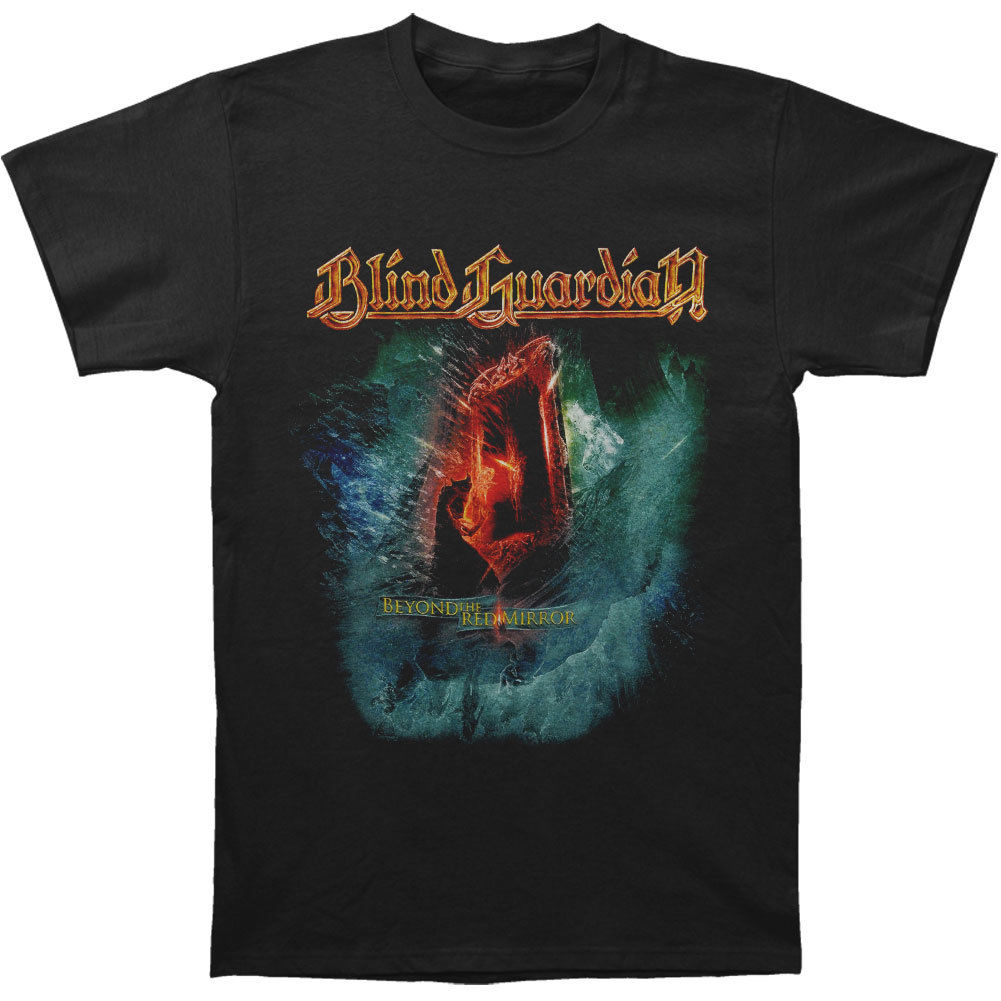 Blind Guardian MenS Beyond The Red Mirror T Shirt X Large Black
