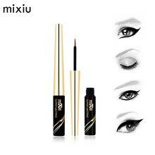 MIXIU 6ML Black Liquid Eyeliner Waterproof Liquid Eye Liner Pencil Cosmetics Long Lasting Matte Eyeliners Professional Makeup