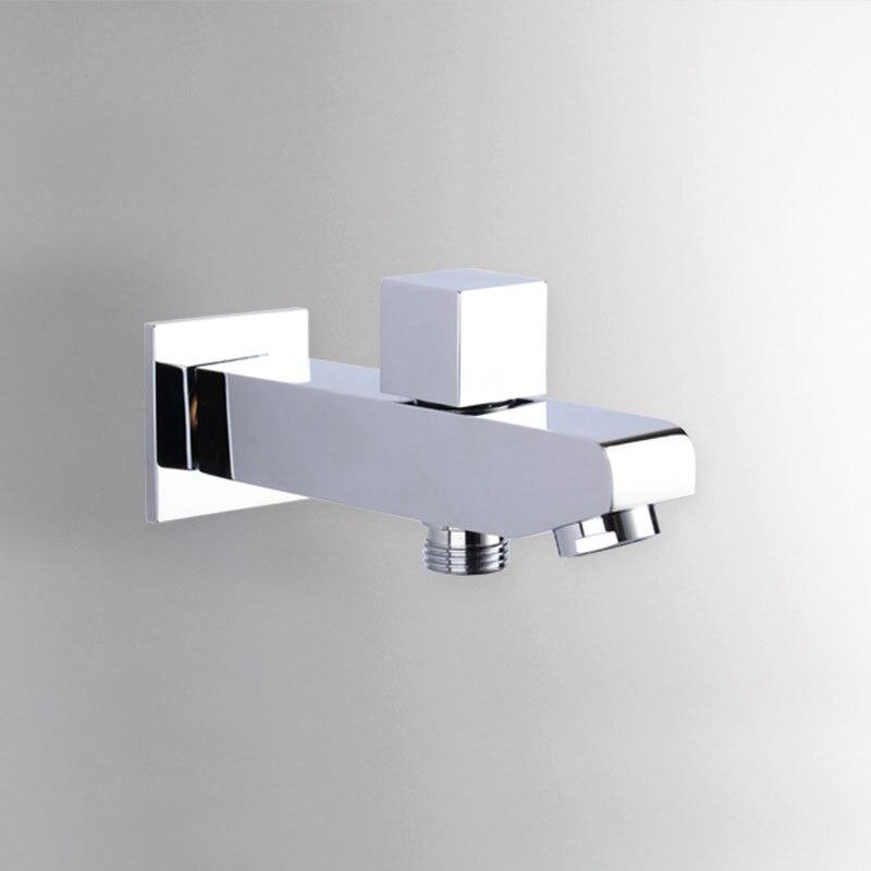 Online Get Cheap Diverter Tub Spout Aliexpresscom Alibaba Group - Wall mount bathtub faucet with diverter