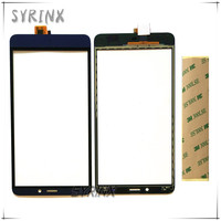 3 5 Inch 2 Colors Touch Screen Digitizer For Fly E154 Touch Panel Front Glass Lens