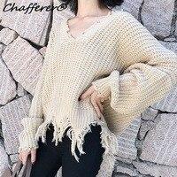 Chafferer-Personality-Short-Loose-2017-Autumn-Irregular-Sweater-V-Neck-Lantern-Sleeves-Women-Fashion-Knitted-Pullovers.jpg_640x640 (2)