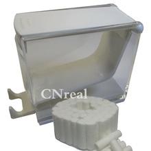 1 pc Dental Cotton Roll Dispenser & 50 pcs Press-type White