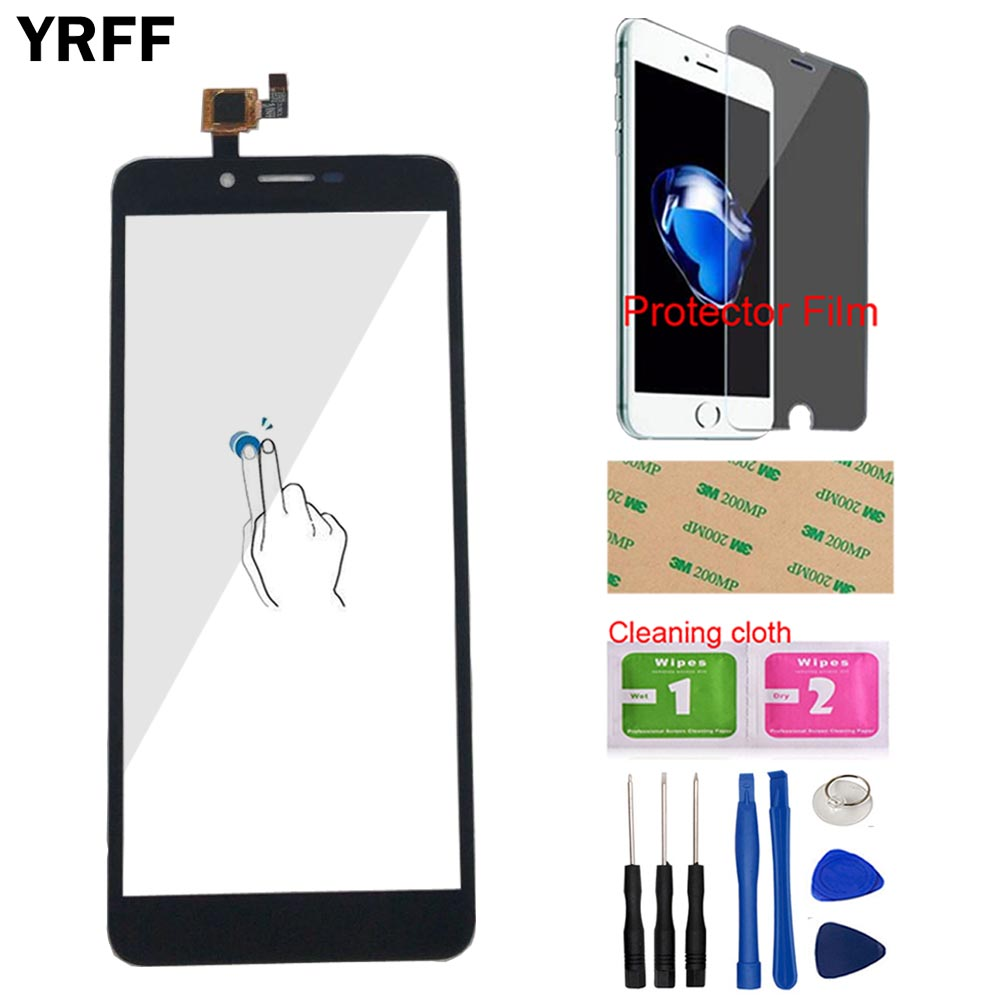 5.5'' Mobile Phone Touch Panel For Doogee X60L Sensor Touch Screen Digitizer Panel Lens Sensor Tools Protector Film