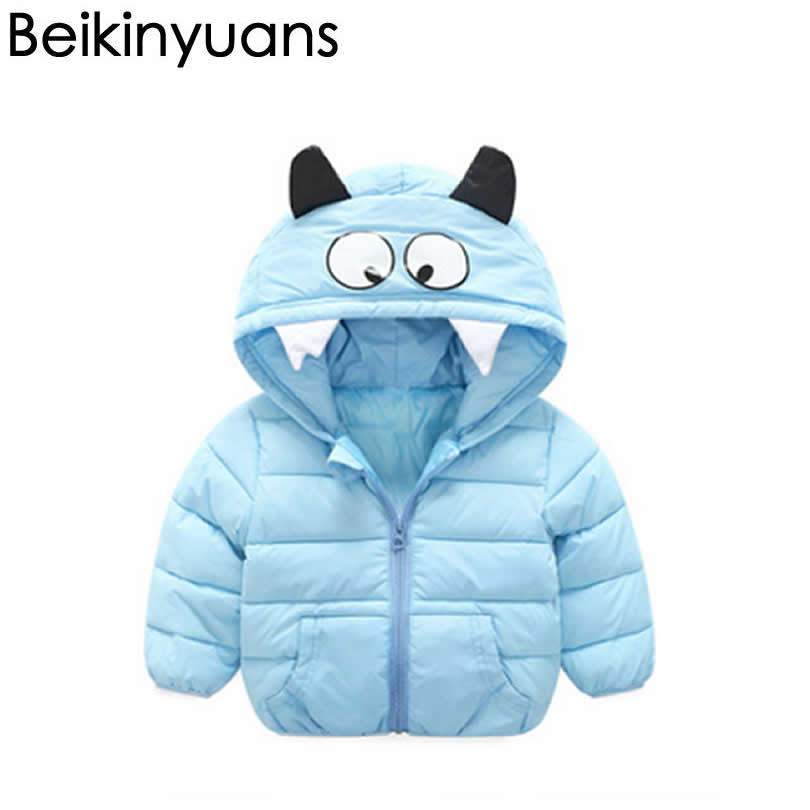 Baby cotton thickening warm jacket Winter Coat Girls Jacket Kids Outerwear Children Coat Spring Clothing Boys Hooded 2018 winter children boys parka jacket kids thicken warm 90% cotton camouflage hooded coat baby boys girls casual outerwear