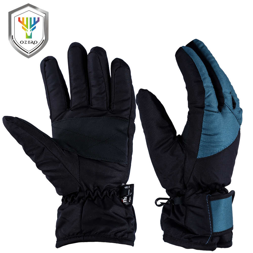 Leather work gloves china - Ozero Work Gloves Driver Sports Winter Warm Windproof Waterproof Security Protection Safety Working For Men S Woman