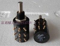 [VK] Japan ed wirewound potentiometer 9018611/E 3 tie 47R handle high 24.5mm round shaft switch