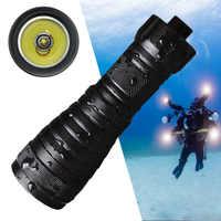 Высокая Мощность XML L2 2000LM светодиодный фонарик Дайвинг 150 м Подводные факел подводное погружение свет Водонепроницаемый рыбалка лампы для ...