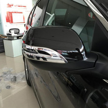 anti-Scratch car accessories for Honda Crv 2012- 2015 2017 accessories ABS styling rearview mirror covers also decoration