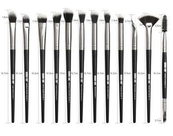 Makeup brushes set professional 12 pcs/lot Makeup Brushes Set Eye Shadow Blending Eyeliner Eyelash Eyebrow Brush For Makeup Tool 6