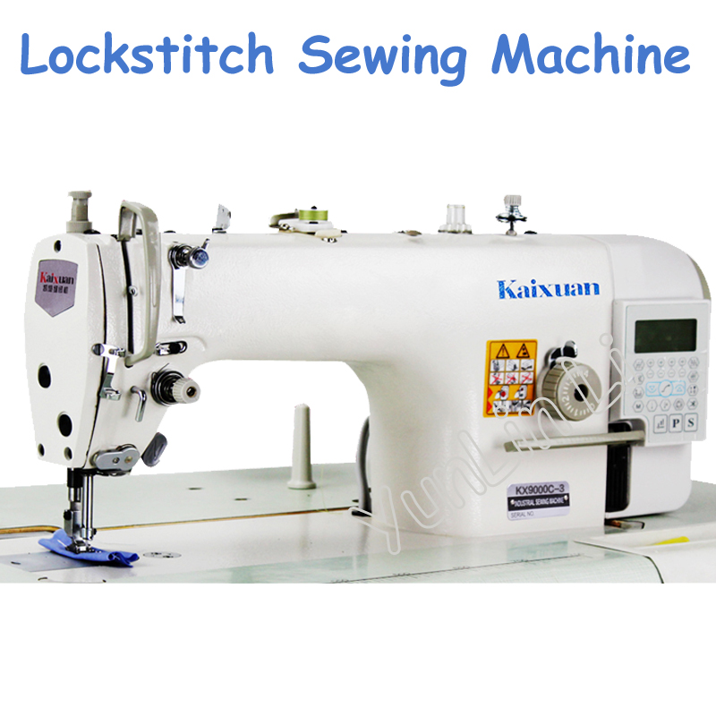 Computerized Sewing Machine Direct Drive Lockstitch Sewing Machine Head with Automatic Thread Trimmer KX9000C-3 цены