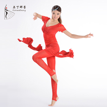 Belly Dance Training Clothes for Dance Practice Clothing Belly Dance Costume Dance Top and Pants SQ00829