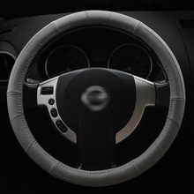 Automobile steering Covers set general new sports style antiskid A-B Pu leather car shape suitable for 38cm