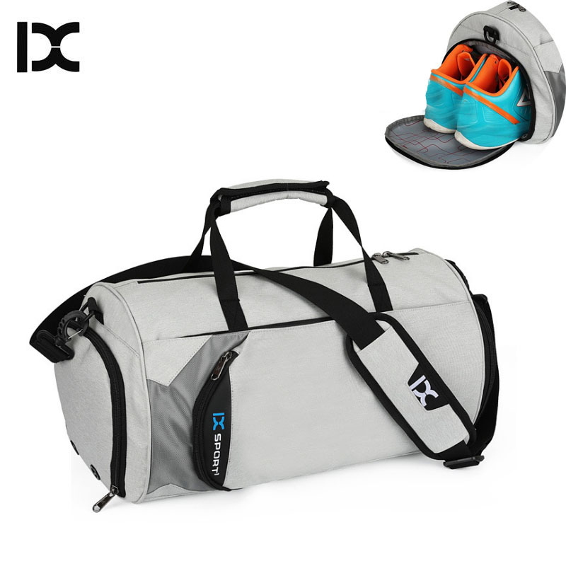 Men Gym Bags For Training Bag Waterproof Nylon Tas Basketball Fitness Travel Pouch Outdoor Sports Bag With Shoes Storage XA103WA