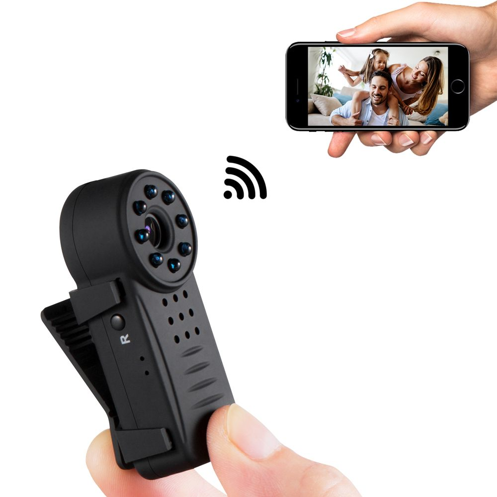 Mini WiFi Wireless Surveillance Camera 1080P HD With Magnetic Network Camera HD Exercise IP Camera Security Video MonitorMini WiFi Wireless Surveillance Camera 1080P HD With Magnetic Network Camera HD Exercise IP Camera Security Video Monitor