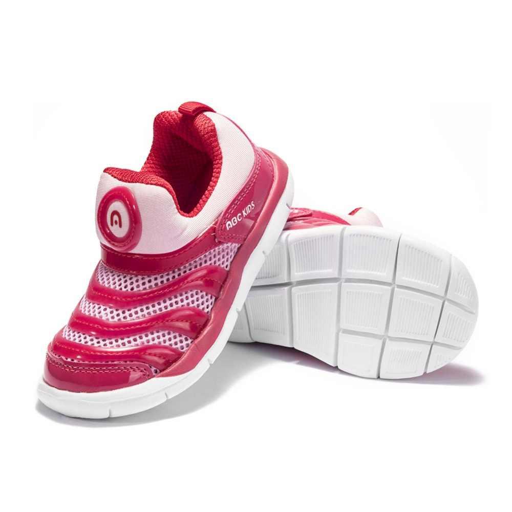 Abckids 4-7 T กีฬารองเท้าเด็กรองเท้าเด็กรองเท้าผ้าใบเด็กชายฤดูใบไม้ผลิฤดูใบไม้ร่วงสุทธิตาข่าย Breathable Casual หญิงรองเท้ารองเท้า