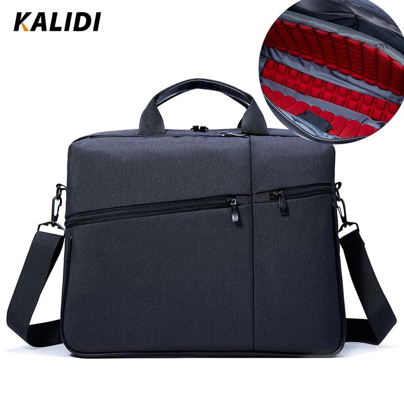 KALIDI noutbuk çantası 15.6 düymlük Kompüter çiyin çantası - Noutbuklar üçün aksesuarlar - Fotoqrafiya 2