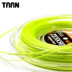 TAAN 1.20mm Ten Tennis String Poly Cyclo Decagonal Fusion Polyester Gym Training Tennis Racket String 200m Reel