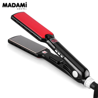 470F High Temperature Wide Plates Straightening Irons Styling Tools MCH Titanium Flat Iron Professional