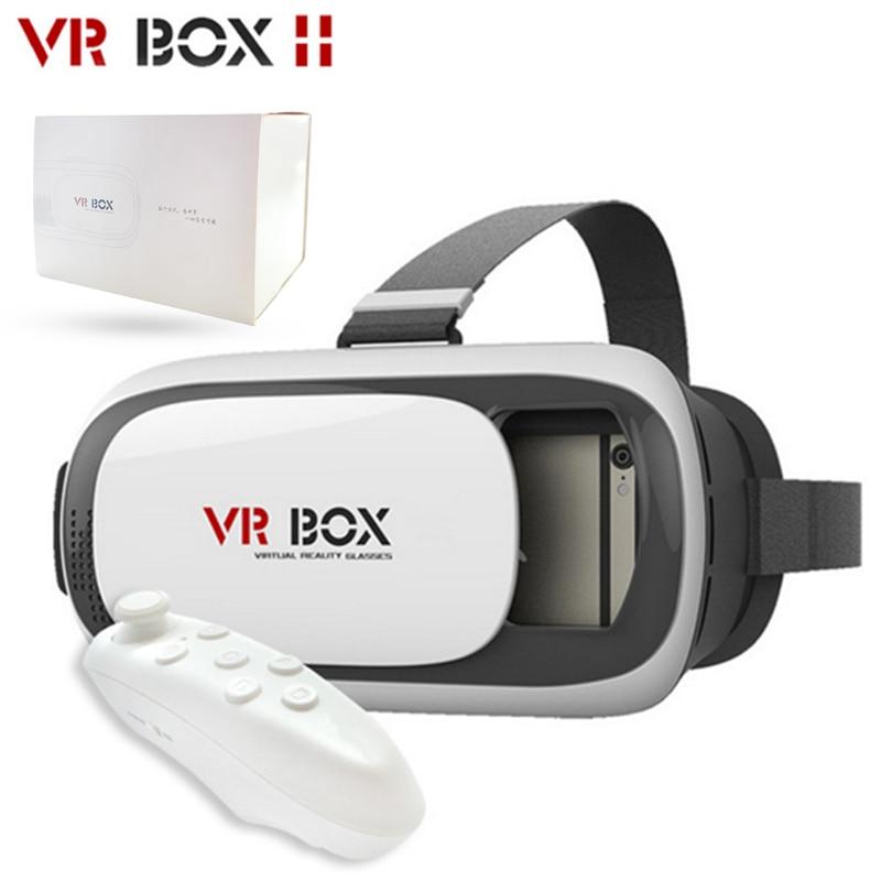 <font><b>VR</b></font> <font><b>BOX</b></font> VR02 3D <font><b>VR</b></font> <font><b>Headset</b></font> Glasses Upgraded Version <font><b>Virtual</b></font> <font><b>Reality</b></font> 3D Video for Smart Phone + Bluetooth Gamepad 5.0
