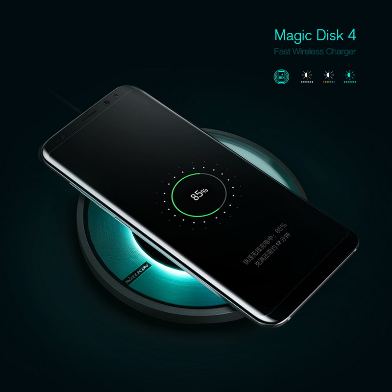 Qi Wireless Charging Pad Nillkin Magic Disk 4 fast charger