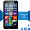 Para microsoft lumia 640 xl dual sim 3g lte de vidrio templado Protector de pantalla 0.26mm 2.5D 9 h película Protectora de vidrio de Seguridad en 640XL