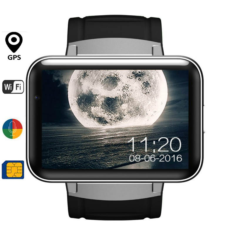 Newset DM98 font b Smart b font watch MTK6572 Dual core 2 2 inch HD IPS