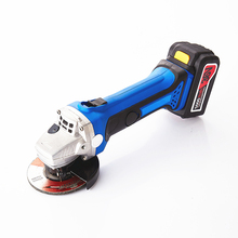 36v Cordless Angle Grinder 1PC Lithium Battery Rechargeable Grinding Machine Battery Polishing Cutting Grinding Sanding Wax Tool