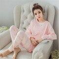 Pigiama Donna Noche pijama Traje Ropa de Dormir Pijamas Mujeres Pijama Pijama Feminino Femme Primark Pijamas ropa de Dormir Pijamas Mujer