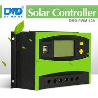 12 V 24 V 40A солнечный заряд r контроллер Солнечный контроллер ручной, ШИМ Контроллер заряда солнечной батареи, регулятор заряда солнечной пане