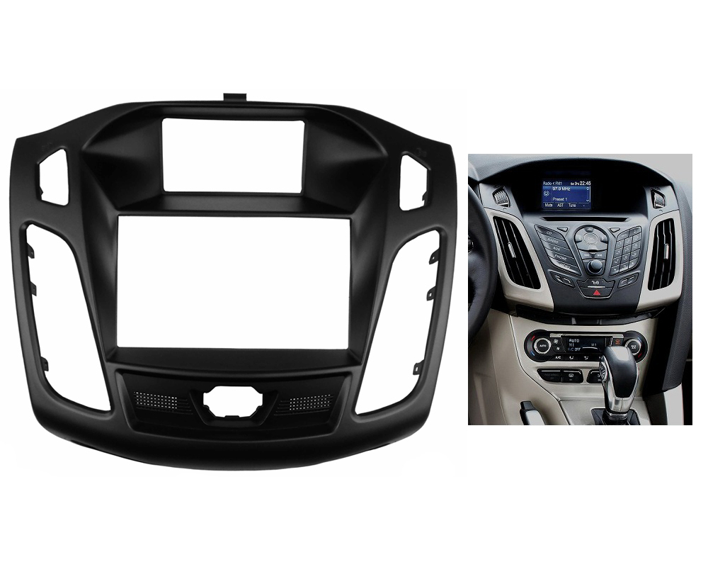 for ford focus iii c max 2011 up radio stereo panel fascia. Black Bedroom Furniture Sets. Home Design Ideas